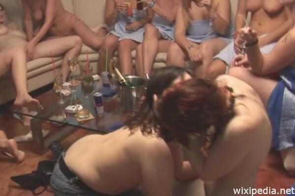 Lesben Party