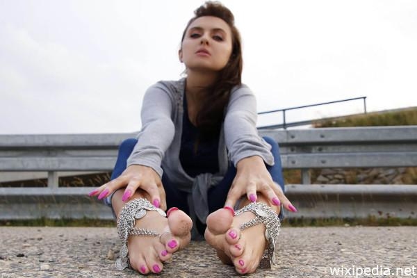 Nackte Füße
